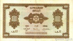 1000 Francs type 1943 MAROC  1943 P.28 TB à TTB
