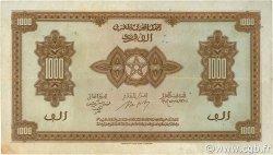 1000 Francs type 1943 MAROC  1943 P.28 TTB+