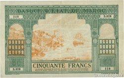 50 Francs type 1943 Casablanca. MAROC  1943 P.40 TTB
