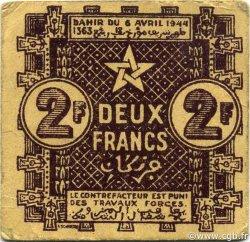 2 Francs MAROC  1944 P.43 TTB