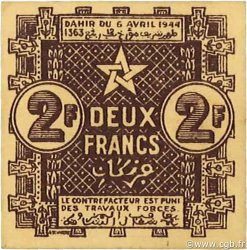 2 Francs MAROC  1944 P.43 NEUF