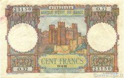 100 Francs type 1948 MAROC  1951 P.45 pr.SUP