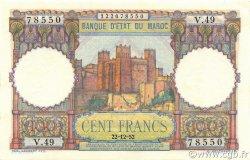 100 Francs type 1948 MAROC  1952 P.45 NEUF