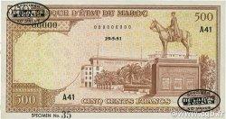500 Francs Marrakech MAROC  1951 P.45As SPL