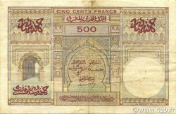 500 Francs type 1949 MAROC  1950 P.46 TTB