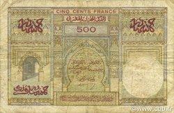 500 Francs MAROC  1950 P.46 B à TB