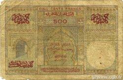 500 Francs type 1949 MAROC  1956 P.46 B