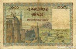 1000 Francs MAROC  1951 P.47 pr.TTB