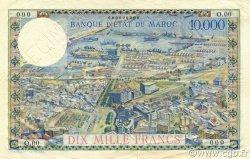 10000 Francs type 1953 MAROC  1953 P.50 TTB+