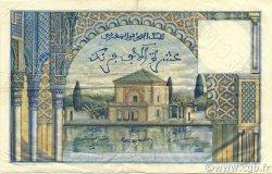 10000 Francs type 1953 MAROC  1953 P.50s TTB+