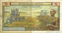 5 Dirhams MAROC  1965 P.53c TTB