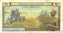 5 Dirhams MAROC  1966 P.53d TTB