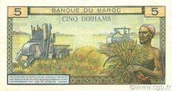 5 Dirhams MAROC  1968 P.53e TTB+