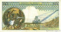 50 Dirhams MAROC  1969 P.55d TTB+