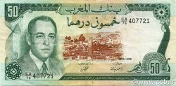 50 Dirhams MAROC  1985 P.58b TTB+