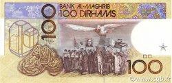 100 Dirhams MAROC  1987 P.62a SUP+