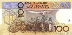 100 Dirhams MAROC  1987 P.62b SUP+