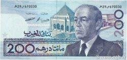 200 Dirhams MAROC  1987 P.66c pr.NEUF