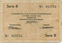 2 Francos MAROC Tanger 1942 P.04 pr.TTB