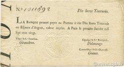 10 Livres Tournois typographié FRANCE  1720 Laf.089 TTB
