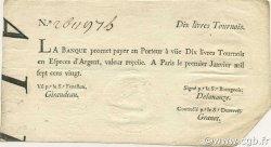 10 Livres Tournois typographié FRANCE  1720 Laf.089 pr.SUP