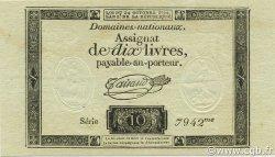 10 Livres FRANCE  1792 Laf.161b NEUF