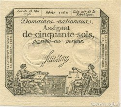 50 Sols FRANCE  1793 Laf.167 NEUF