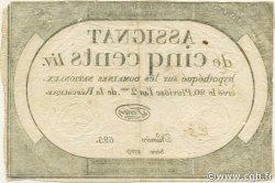 500 Livres FRANCE  1794 Laf.172 TTB