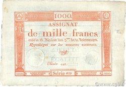 1000 Francs FRANCE  1795 Laf.175 SUP