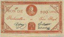 500 Livres FRANCE  1794 Laf.278 SUP