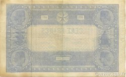 100 Francs indices noirs FRANCE  1871 F.A39.07 TTB à SUP