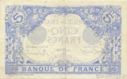 5 Francs BLEU FRANCE  1912 F.02.08 SUP+