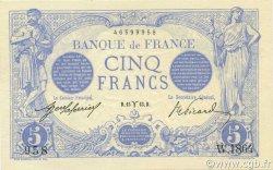 5 Francs BLEU FRANCE  1913 F.02.15 NEUF