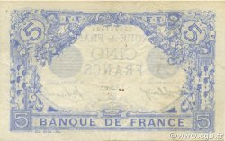 5 Francs BLEU FRANCE  1916 F.02.43 TTB à SUP