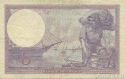 5 Francs VIOLET FRANCE  1921 F.03.05 TTB