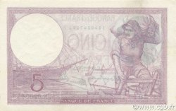 5 Francs VIOLET modifié FRANCE  1939 F.04.08 NEUF