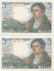 5 Francs BERGER FRANCE  1947 F.05.07 NEUF