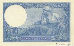 10 Francs MINERVE FRANCE  1916 F.06.01 NEUF
