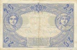 20 Francs NOIR FRANCE  1904 F.09.03 pr.TTB