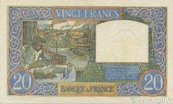 20 Francs SCIENCE ET TRAVAIL FRANCE  1941 F.12.15 pr.NEUF