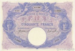 50 Francs BLEU ET ROSE FRANCE  1916 F.14.29 SUP