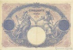 50 Francs BLEU ET ROSE FRANCE  1926 F.14.39 SUP