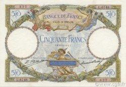 50 Francs LUC OLIVIER MERSON type modifié FRANCE  1930 F.16.01 SUP+
