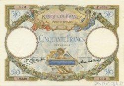 50 Francs LUC OLIVIER MERSON type modifié FRANCE  1931 F.16.02 TTB à SUP