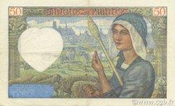 50 Francs JACQUES CŒUR FRANCE  1941 F.19.06 SUP