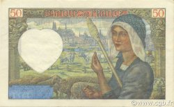 50 Francs JACQUES CŒUR FRANCE  1941 F.19.14 SUP