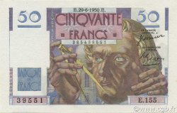 50 Francs LE VERRIER FRANCE  1950 F.20.15 NEUF