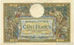 100 Francs LUC OLIVIER MERSON avec LOM FRANCE  1908 F.22.01 TTB+