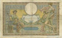 100 Francs LUC OLIVIER MERSON avec LOM FRANCE  1909 F.22.02 TB à TTB
