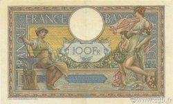 100 Francs LUC OLIVIER MERSON grands cartouches FRANCE  1927 F.24.06 pr.SUP